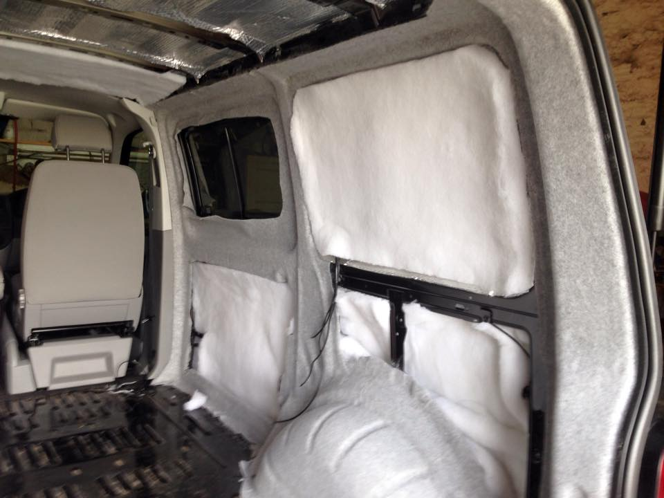 Camper Van Lining Insulation