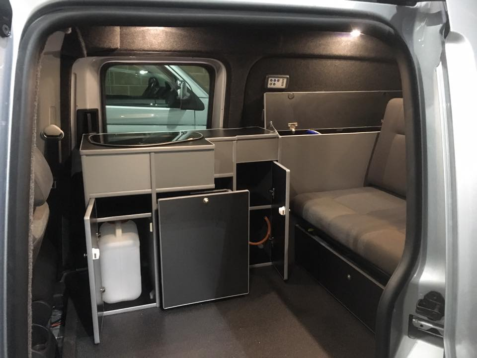 Custom Vans For Sale >> Volkswagen Caddy Conversions – SJ Campers