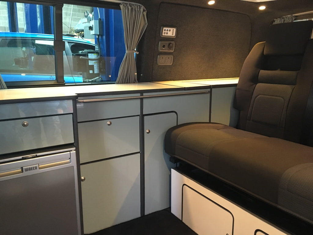 VW Camper van kitchen units