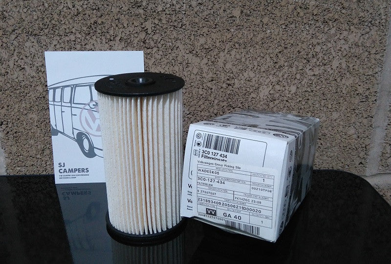Genuine Fuel Filter VW Caddy and Caddy Maxi