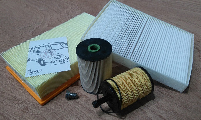 Filter Service Kit VW Caddy & Caddy Maxi 2011 Onwards