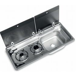 2 Ring Hob And Sink 9722