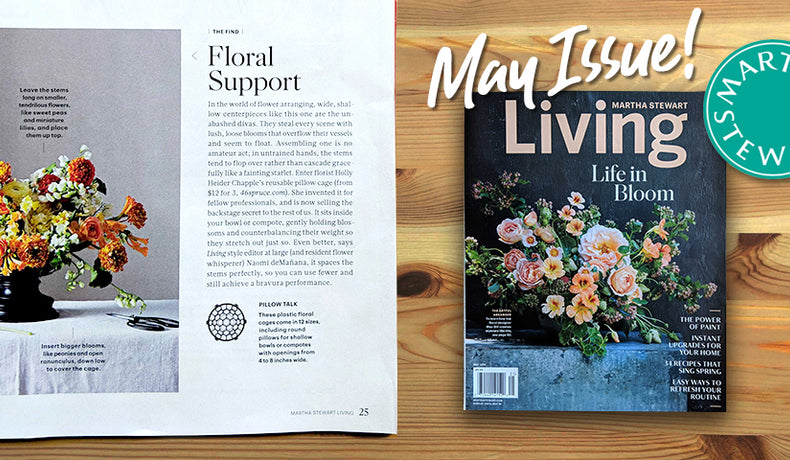 Holly Chapple products featured in Martha Stewart Living!