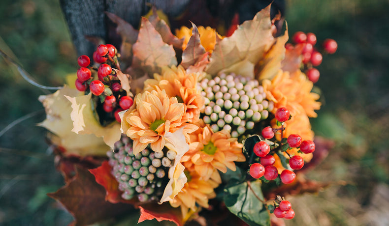 How to Make Gorgeous Glass Centerpieces for Fall