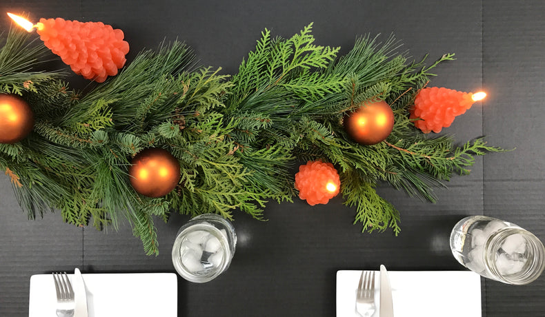 How to Create an Evergreen Garland