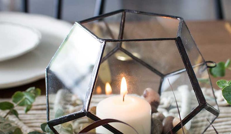 Geometric Terrariums: The Universal Party Decoration