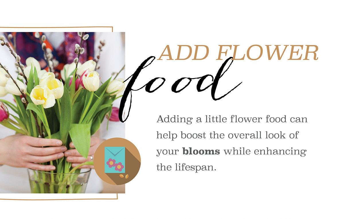Add Flower Food