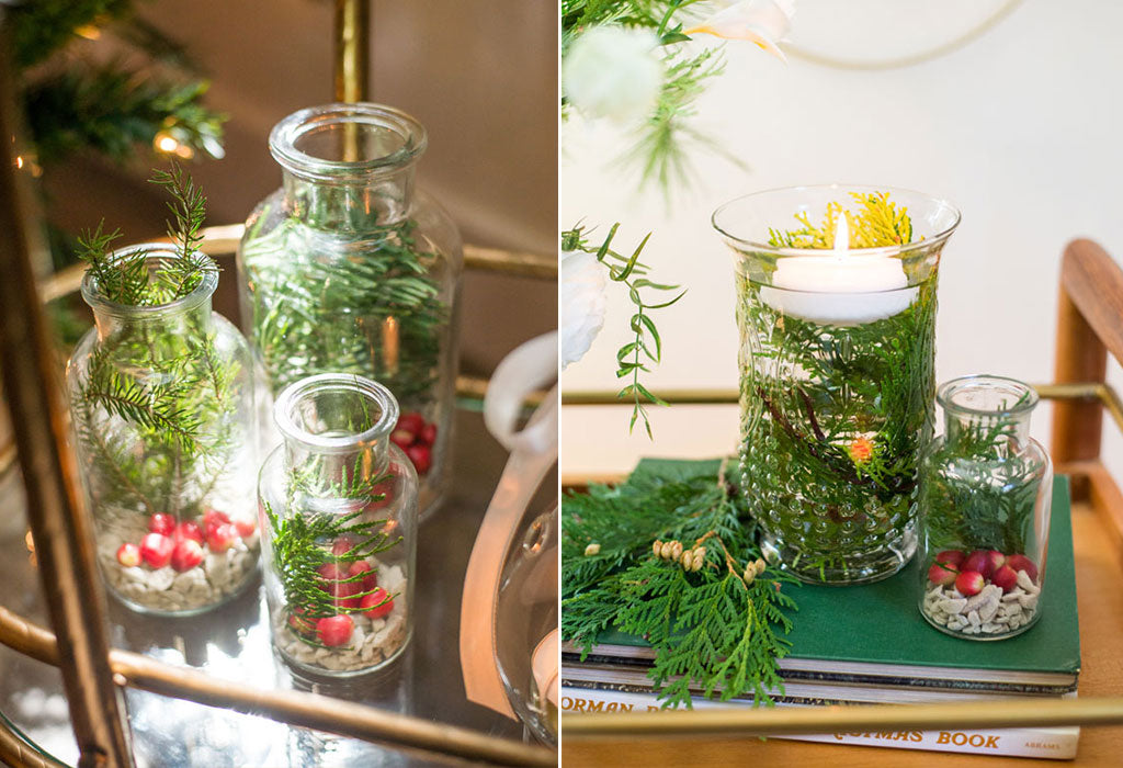 holiday vase filler ideas