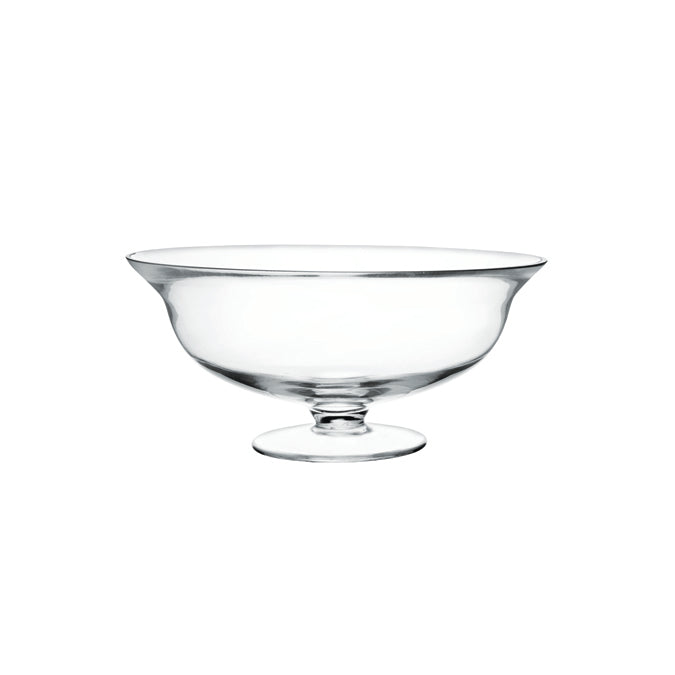 Clear Footed Bowl