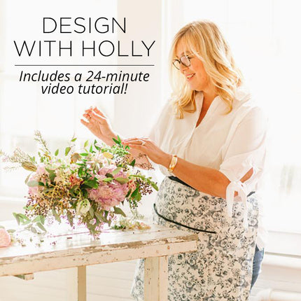 Holly Chapple DIY Floral Kit with Video