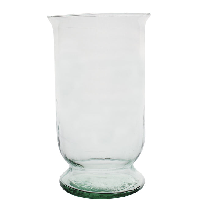 tall hurricane vase empty