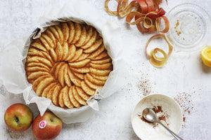 German Apple Cake - ala Rick Stein with a twist
