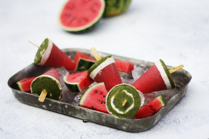 Watermelon Ice Lolly Recipe - Summer Food Styling