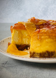 Baked Orange Cheesecake Recipe