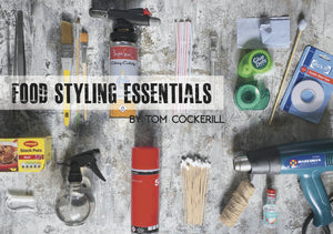 Food styling photography stylist kit essentials tips how to become a food stylist