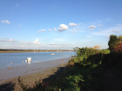 The River Crouch (when its not overcast and raining)