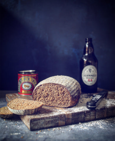 Treacle and Guinness Sourdough Bread