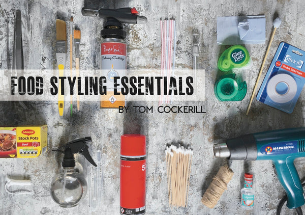 Food styling photography stylist kit essentials tips how to become