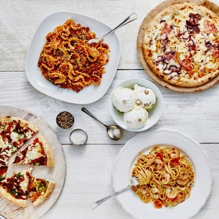 food photography stylist manchester props pizza express iceland artisana range