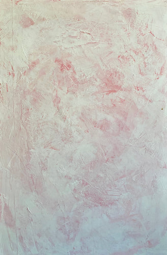 'Rosa' Hand-painted Photography Background Board - Pastel pinks and chalk white