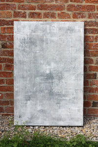 'Haze' Hand-painted Photography Background Board - White/Grey-Background Board-Tom-60x60cm-Woodrow Studios Food Photography Background