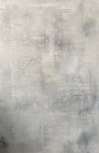 'Haze' Hand-painted Photography Background Board - White/Grey