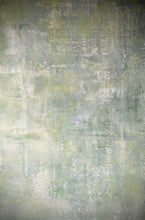 'Fleur' Hand-painted Photography Background Board - Soft greens and cream