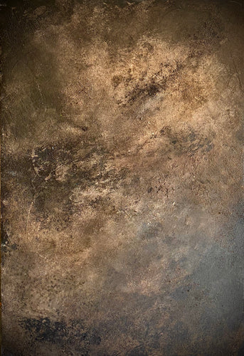 'Fossil' Plaster/Stone Effect in Peanut/Umber/Blacks
