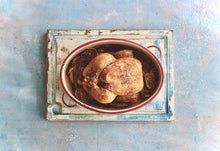 'Juhannus' - soft pinks & blues, plaster-Background Board-Sophie-60x60cm-Woodrow Studios Food Photography Background