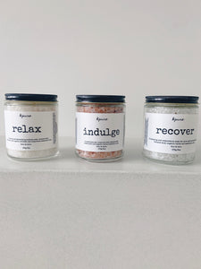 Bath Soak Trio