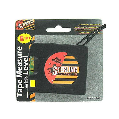Tape Measure with Level ( Case of 48 ) - 1home.co