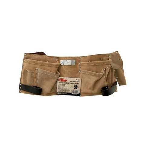Heavy Duty Double Pocket Tool Belt ( Case of 3 )