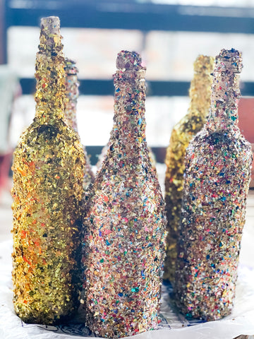 DIY New Year's Eve Bottles