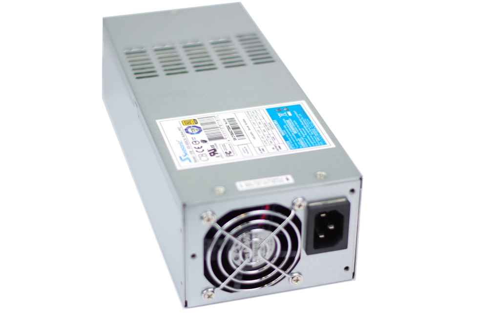 "Seasonic SS-500L2U 500W 2U ATX power supply for 19"" rackmount server"