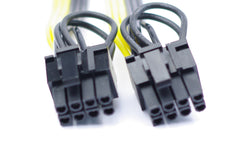 6-pack PCI-E 8pin to dual PCI-E 6+2pin PCI Express splitter adapter cable