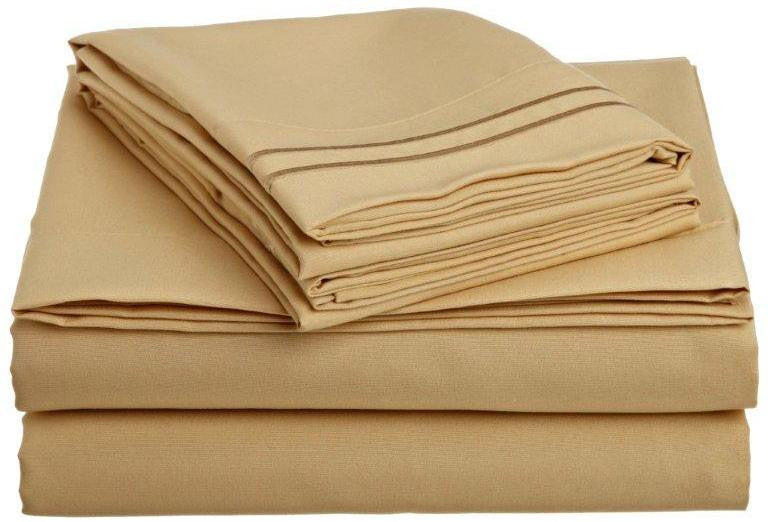 Clara Clark 1500 Series Deep Pocket Bed Sheet Set