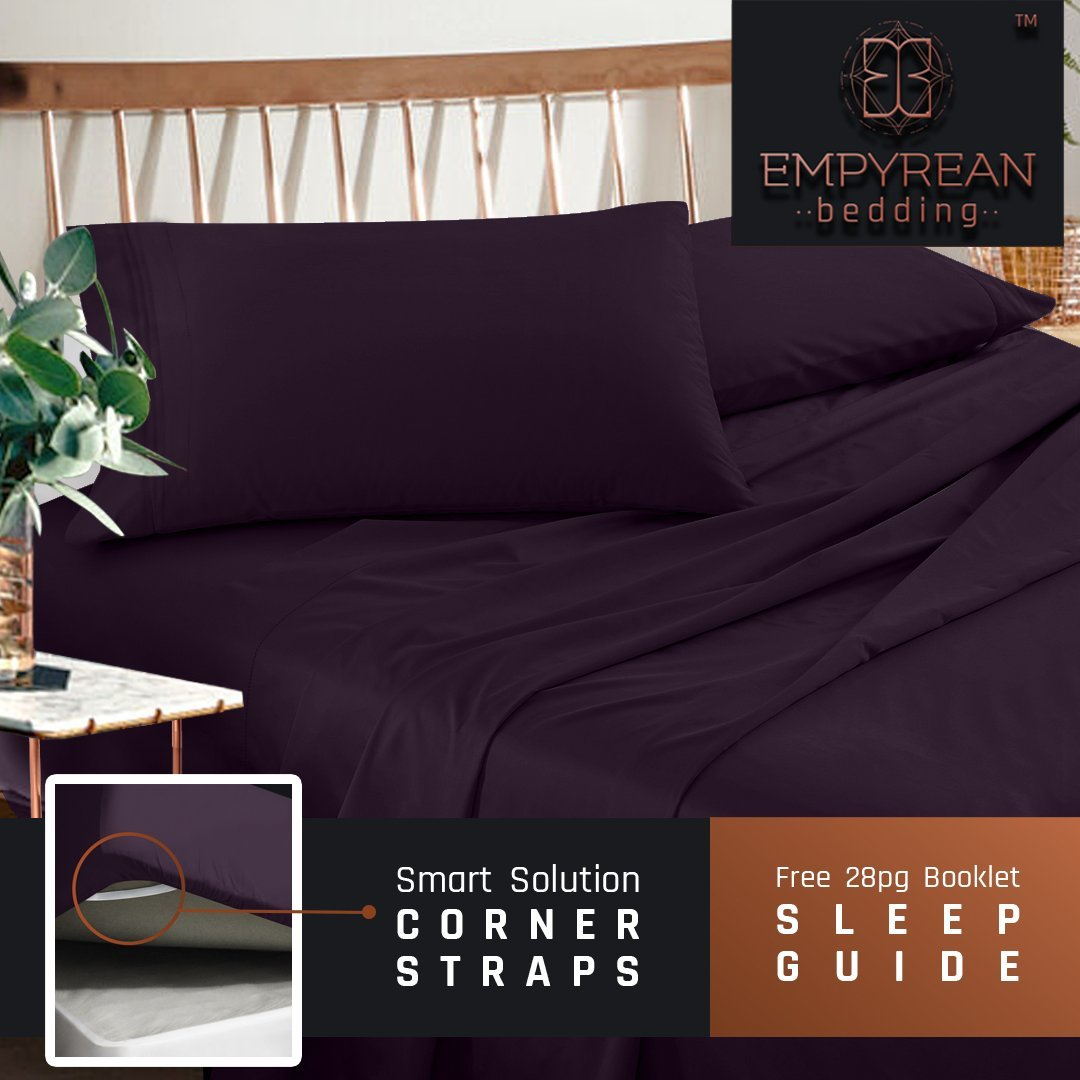 Merveilleux Empyrean Premium Deep Pocket Bed Sheet Set