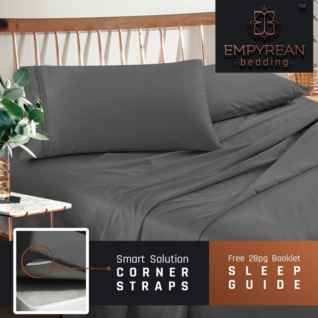 Empyrean Premium Deep Pocket Bed Sheet Set