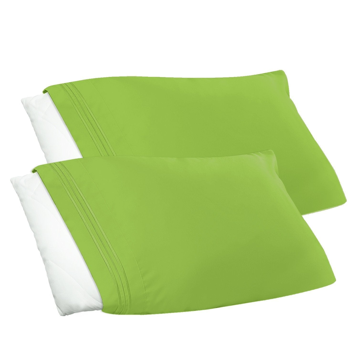 Clara Clark Bright Spring Colors 1800 Series 2pc Pillow Cases