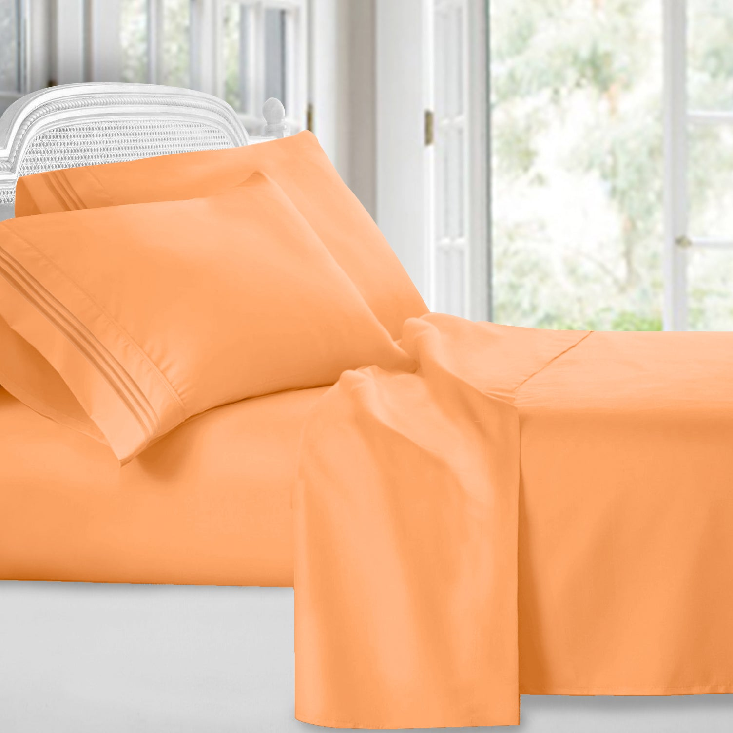 Bright Spring Colors Deep Pocket Bed Sheet Set