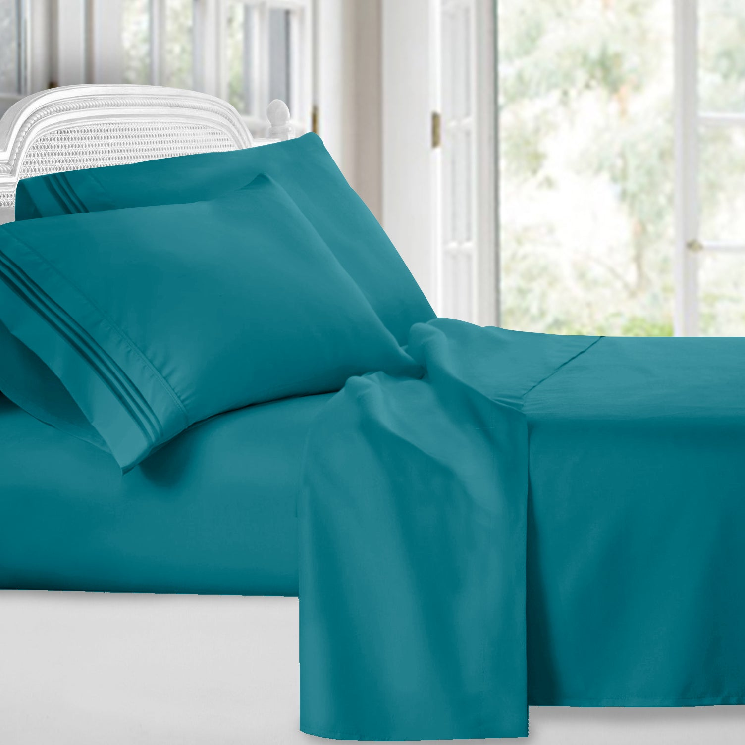 Superior Bright Spring Colors Deep Pocket Bed Sheet Set