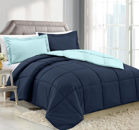 CLARA CLARK DOWN ALTERNATIVE COMFORTER TWIN X LARGE SIZE, 66 IN. X