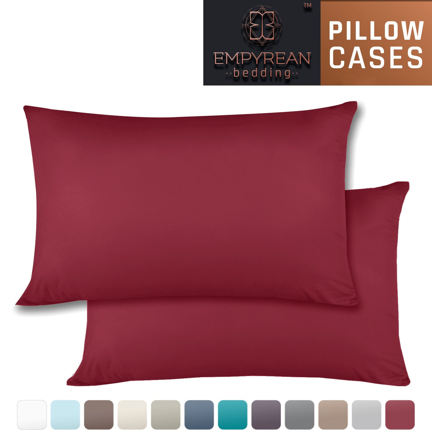 Empyrean Set Of 2 Premium Pillowcases