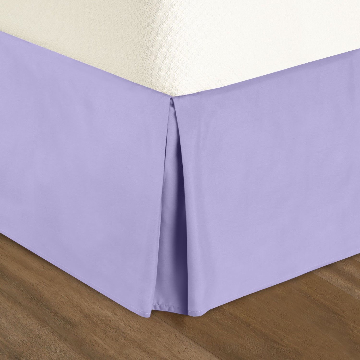 Clara Clark Solid Bed Skirt Dust Ruffle