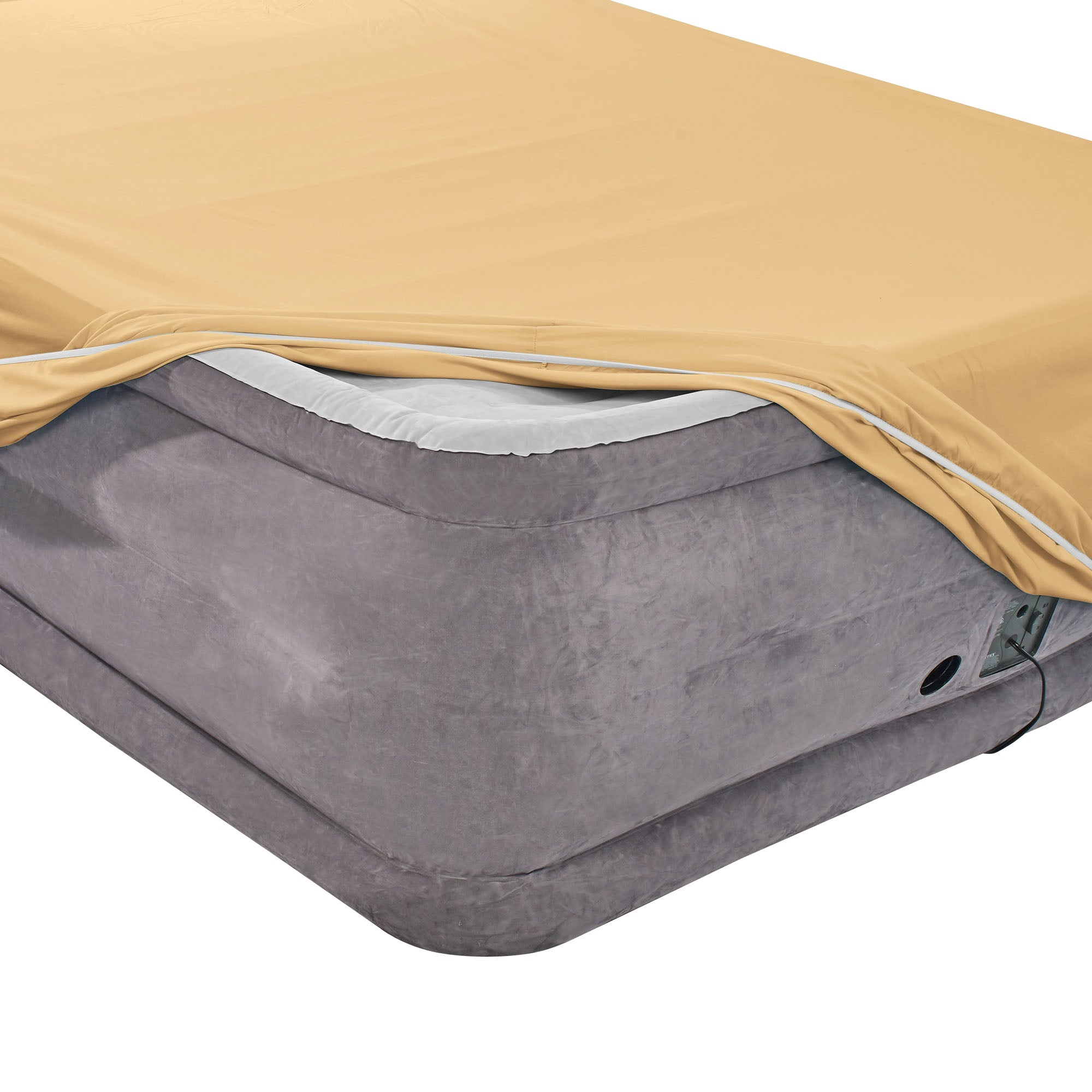 Nestl Bedding Twin Fitted Sheet - Single Fitted Deep Pocket Sheet - Fits Mattress Perfectly - Soft Wrinkle Free Sheet - 1 Fitted Sheet Only