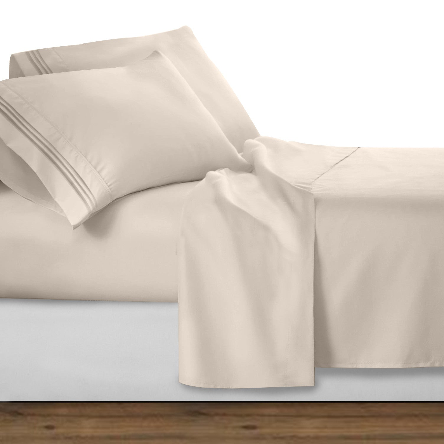 Waterbed Queen 1800 Series Bed Sheet Set