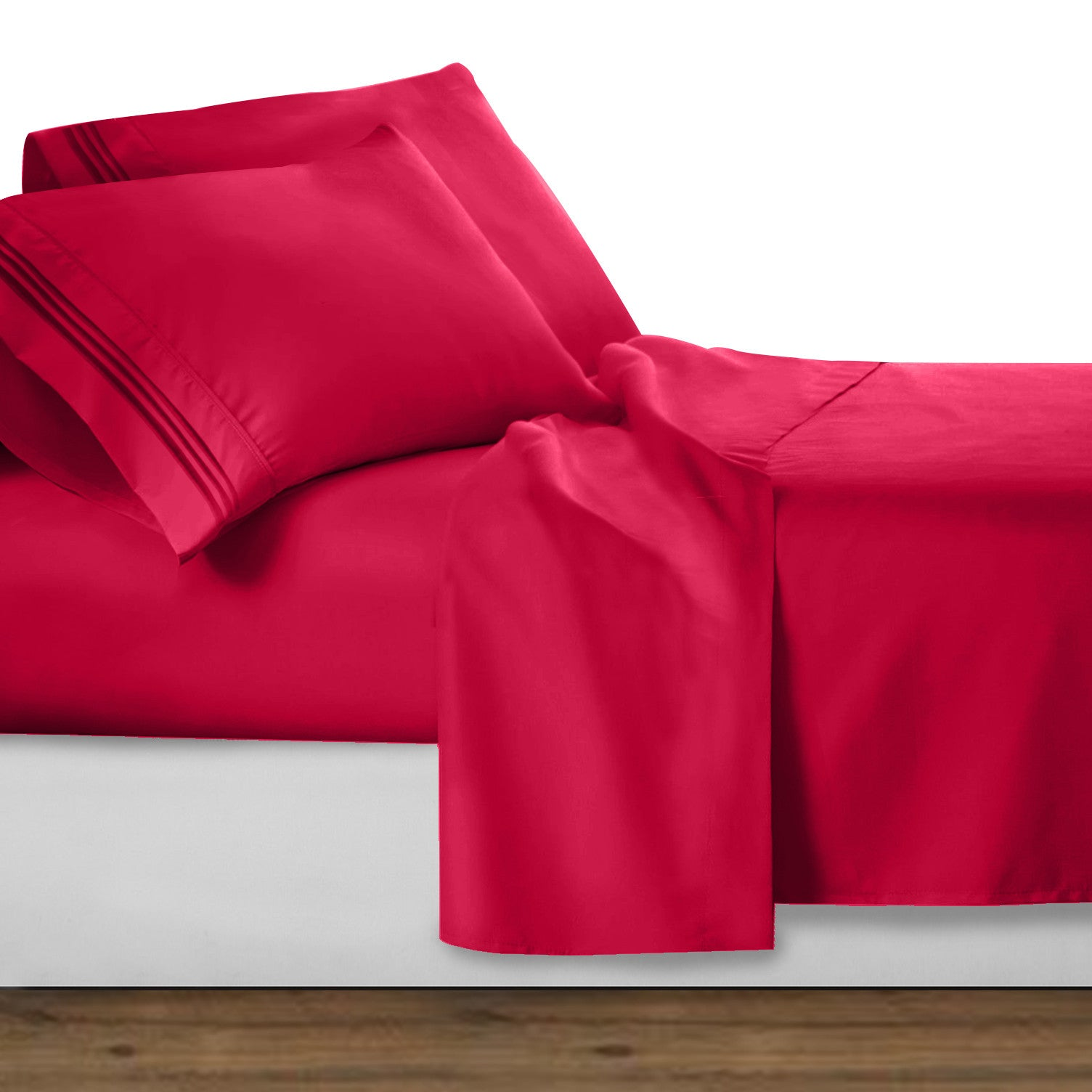 Ordinaire Unique Colors Deep Pocket Bed Sheet Set
