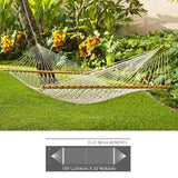 Cotton Rope Hammock - Single Person Hanging Hammock Sleeping Bed Swing