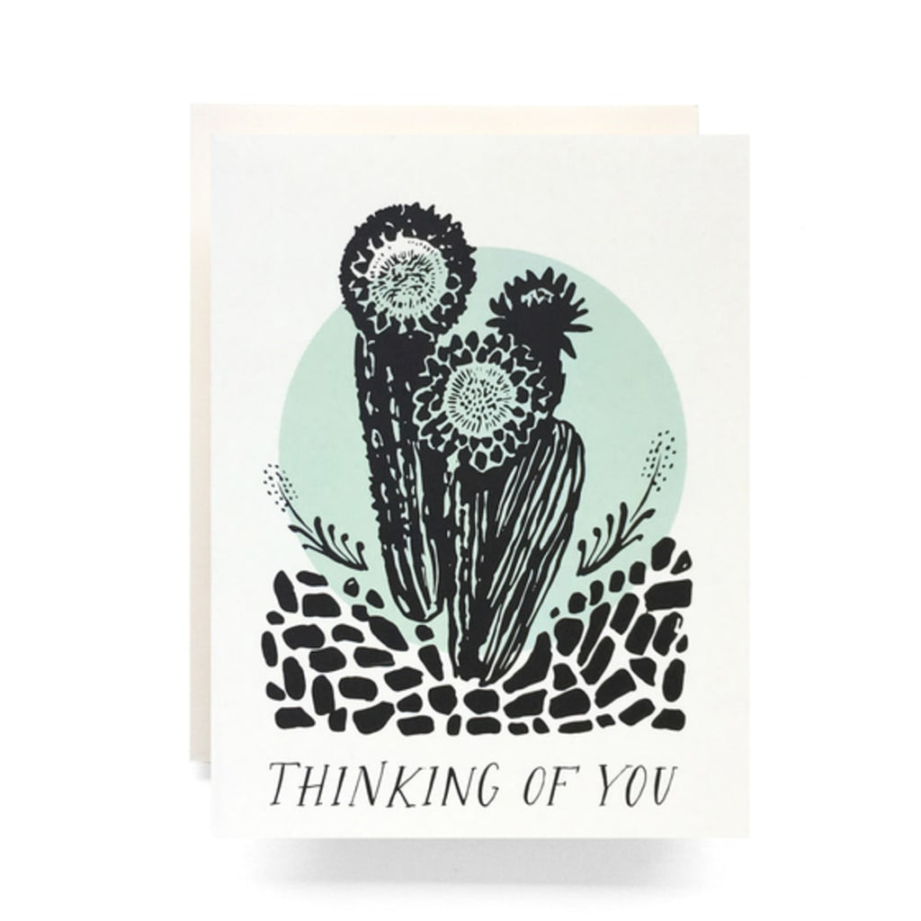Cactus / Thinking of You Card