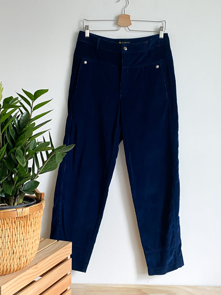 90s LC Navy Yolk Front Cords